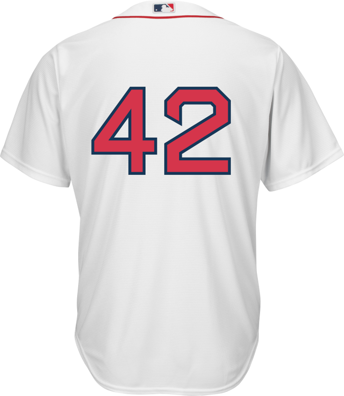 236e204ac Jackie Robinson Day 42 Jersey - Boston Red Sox Replica Adult Home ...