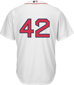 Jackie Robinson Day 42 Jersey - Boston Red Sox Replica Adult Home Jersey