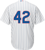 Jackie Robinson Day 42 Jersey - Chicago Cubs Replica Adult Home Jersey