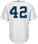 Jackie Robinson Day 42 Jersey - Detroit Tigers Replica Adult Home Jersey
