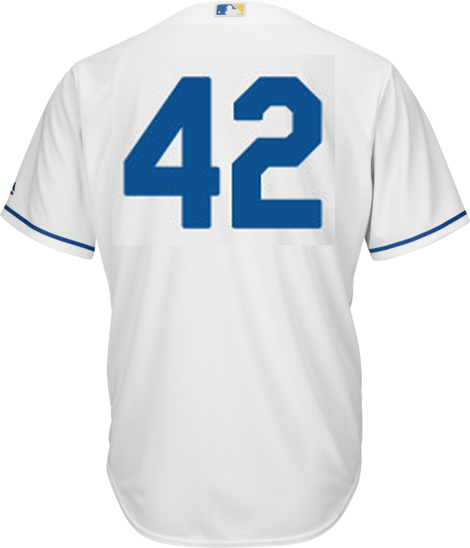Jackie Robinson Day 42 Jersey - Kansas City Royals Replica Adult ...