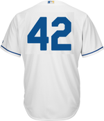 Jackie Robinson Day 42 Youth Jersey - Kansas City Royals Replica Kids Home Jersey