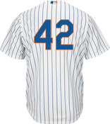 Jackie Robinson Day 42 Youth Jersey - NY Mets Replica Kids Home Jersey
