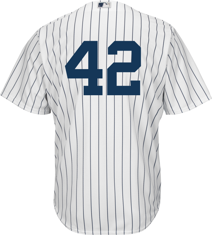 new style d0616 e2157 Jackie Robinson Day 42 Jersey - NY Yankees Replica Adult Home Jersey