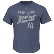 New York Yankees Majestic Again Next Year Adult T-Shirt