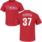 Odubel Herrera T-Shirt - Red Philadelphia Phillies Adult T-Shirt