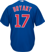 Kris Bryant Jersey - Chicago Cubs Replica Adult Royal Blue Jersey