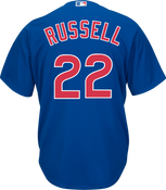 Addison Russel Jersey - Chicago Cubs Replica Adult Royal Blue Jersey