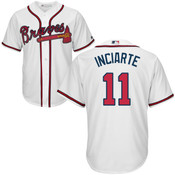 Ender Inciarte Youth Jersey - Atlanta Braves Replica Kids Home Jersey
