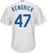 Howie Kendrick Youth Jersey - LA Dodgers Replica Kids Home Jersey