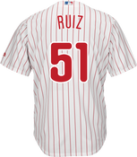 Carlos Ruiz Youth Jersey - Philadelphia Phillies Replica Kids Home Jersey