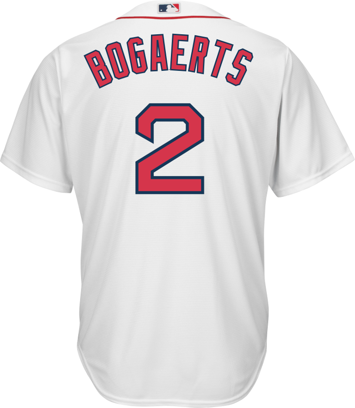 be26dd3ae Xander Bogaerts Youth Jersey - Boston Red Sox Replica Kids Home ...