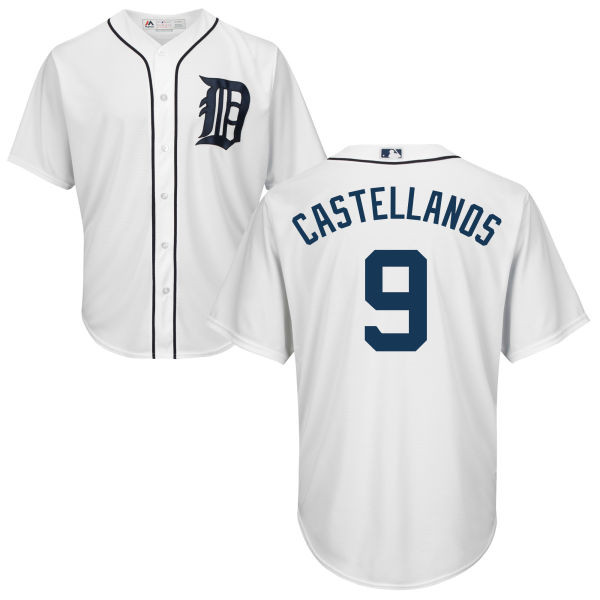 low priced 3e9e9 1625a Nick Castellanos Youth Jersey - Detroit Tigers Replica Kids Home Jersey
