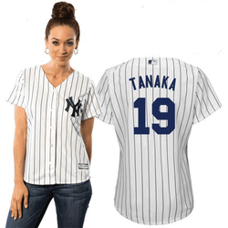 Masahiro Tanaka NY Yankees Replica Ladies Home Jersey Photo