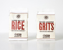 GRAINS ONLY: Long Grain Rice & Carolina Grits Combo Pack - sofi™ Award Winner