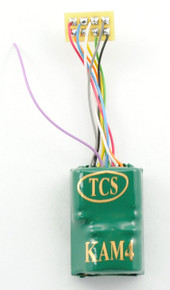 "TCS 1486 KAM4P-SH Decoder with Built-in Keep Alive KA2 and 1"" Harness"