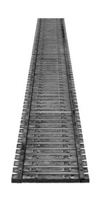 "CENTRAL VALLEY 1903-2 HO 72 ft CVT Bridge Tie Sections (2-10"")"