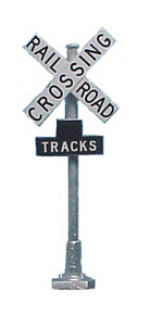 TOMAR H-869 Crossbucks - Railroad Crossing Signs (pair)