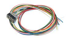 ESU 51950 Cable Harness NMRA 8-pin plug, NEM652, DCC Color, 300mm