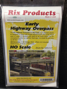 RIX 101 HO Early Style Highway Bridge kit 50'