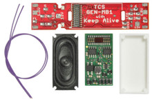 TCS 1770 WOW Diesel Kit Decoder MotherBoard Speaker Enclosure ATHEARN WDK-ATH-3