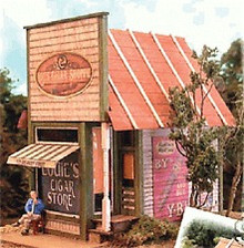 BAR MILLS 492 HO Papa Lou's Cigar Store - Laser-Cut Craftsman Kit