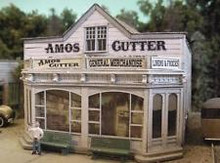 BAR MILLS 462 HO Amos Cutter General Merchandise - Laser-Cut Craftsman Kit