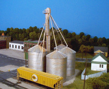 RIX 407 HO Grain Elevator (Kit)