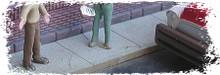 BAR MILLS 682 HO Sidewalks