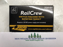 Rapido 320103 Railcrew Switch Machine - 12 Pack