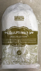Sculptamold Modeling Compound 3 LB. FREE USA PRIORITY SHIPPING