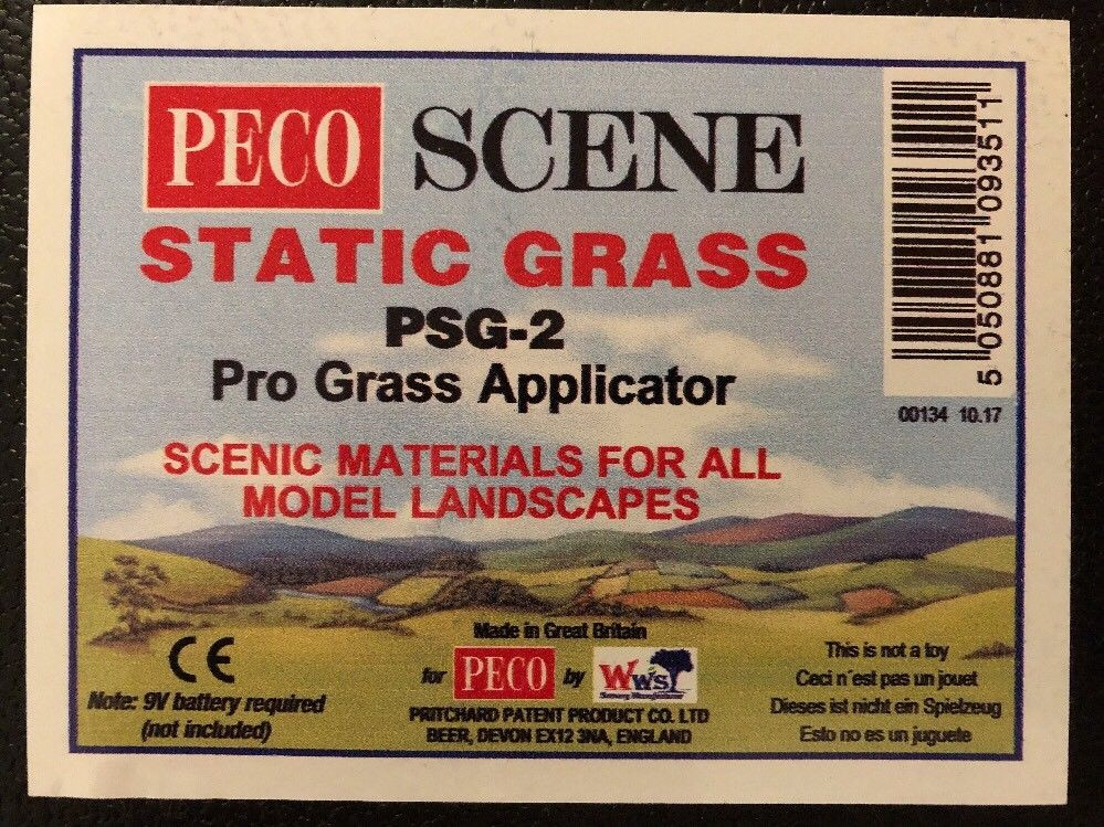 Peco Scene Psg 2 Pro Version Static Pro Grass Micro Applicator