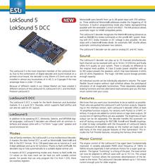 ESU 58420 Loksound 5 DCC 8 Pin NEM652 (NMRA 8 Pin)