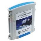 Remanufactured  HP 940CXL (C4907AN) Hi-Yield Cyan Ink Cartridge