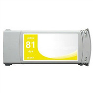 Compatible Hewlett Packard HP 81Y (C4933A) Yellow Dye Ink Cartridge