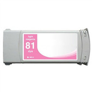 Compatible Hewlett Packard HP 81LM (C4935A) Light Magenta Dye Ink