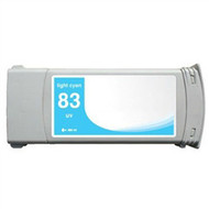 Compatible Hewlett Packard HP 83LC (C4944A) LT Cyan UV Ink