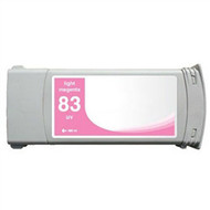 Compatible Hewlett Packard HP 83LM (C4945A) Light Magenta UV Ink