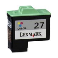 Remanufactured Lexmark 10N0227 (27) Color Ink Cartridge