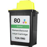Remanufactured Lexmark 12A1980 (80) Color Ink Cartridge