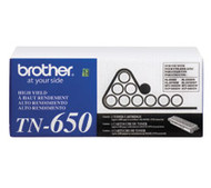 Genuine OEM Brother TN650 High Yield Laser Toner Cartridge