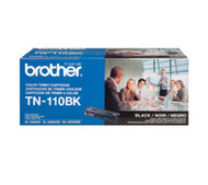 Genuine OEM Brother TN110BK Black Laser Toner Cartridge