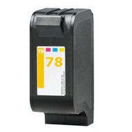 Remanufactured Hewlett Packard C6578D (HP 78) Tri Color Ink Cartridge