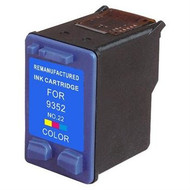 Remanufactured Hewlett Packard C9352AN (HP 22) Tri Color Ink Cartridge