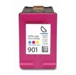 Remanufactured Hewlett Packard CC656AN (HP 901) Color Ink Cartridge