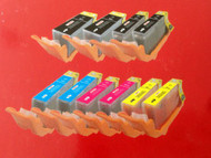 10 Pack Compatible Lexmark 100XL High Yield Multi Color Pack