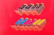 Canon Compatible PGI225/CLI226 10 Pack; Multiple Colors