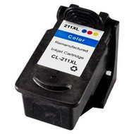 Remanufactured Canon CL211XL High Yield Black Ink Cartridge
