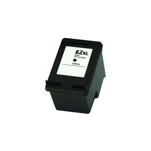 Remanufactured HP 62XL C2P05AN High Yield Black Ink Cartridge