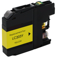 Brother LC203Y High Yield Yellow Compatible Ink Cartridge